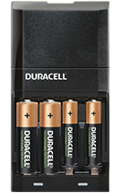 Duracell hi-speed multi-acculader